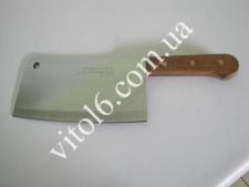 Нож секач с деревянной ручкой №10  12см*41см  VT6-15901(24шт)