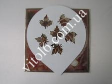 Трафарет для торта  Кленовий лист  VT6-15932 (100)