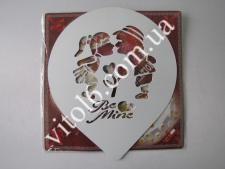 Трафарет для торта  Любовь  VT6-15933(100)