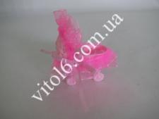 Сувенир свадебный  Коляска розовая VT6-16221(600шт