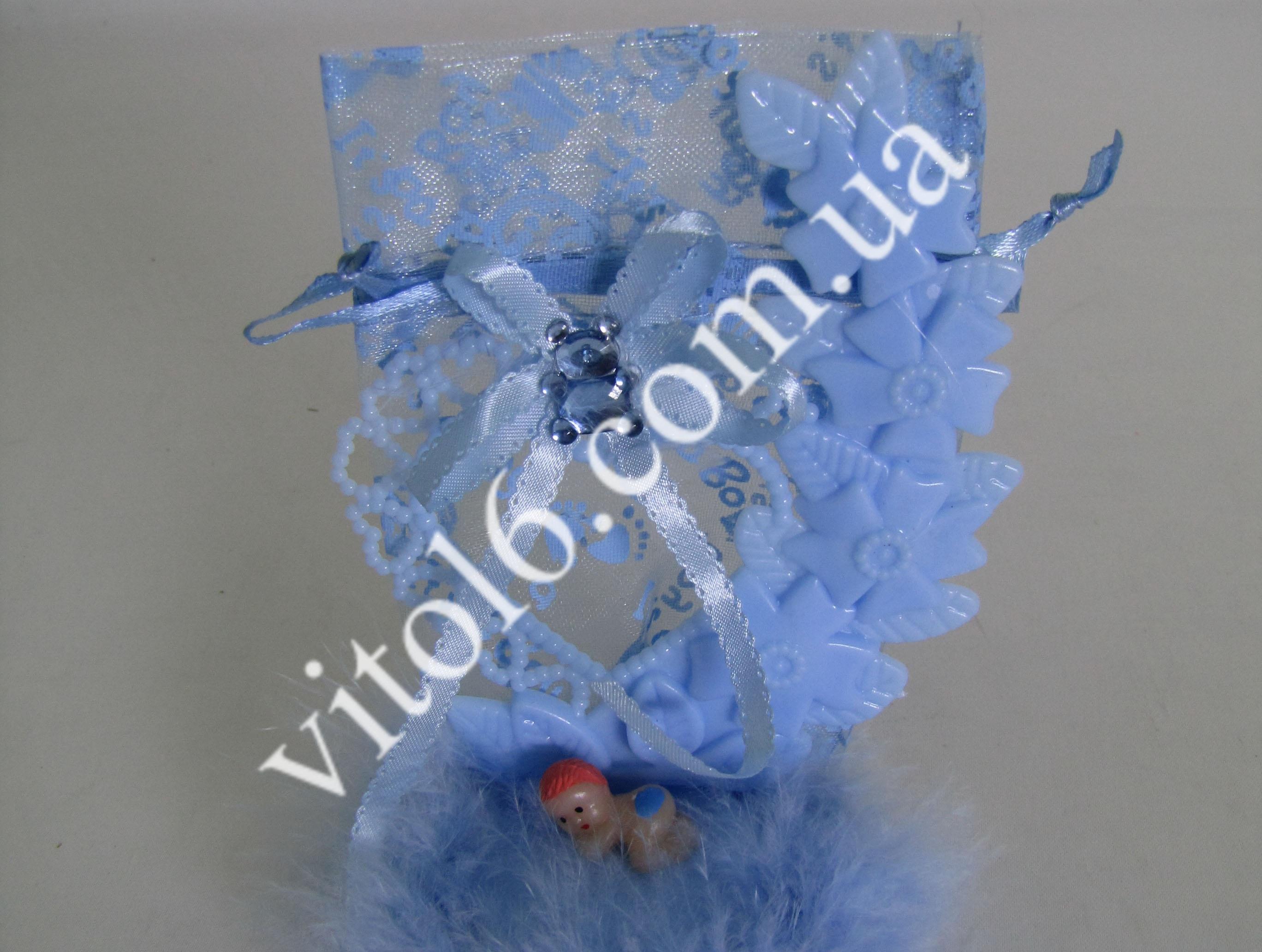Сувенир свадебный  На подушке VT6-16225(600шт)