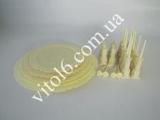 Стойка для торта 5-ти эт.пластм.VT6-16043(12шт)