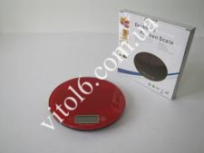 Весы кухонные стекло О18,5см VT6-15866(40шт)