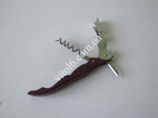 Нож складной бармена (черный штопор)12см  VT6-15856(240шт)