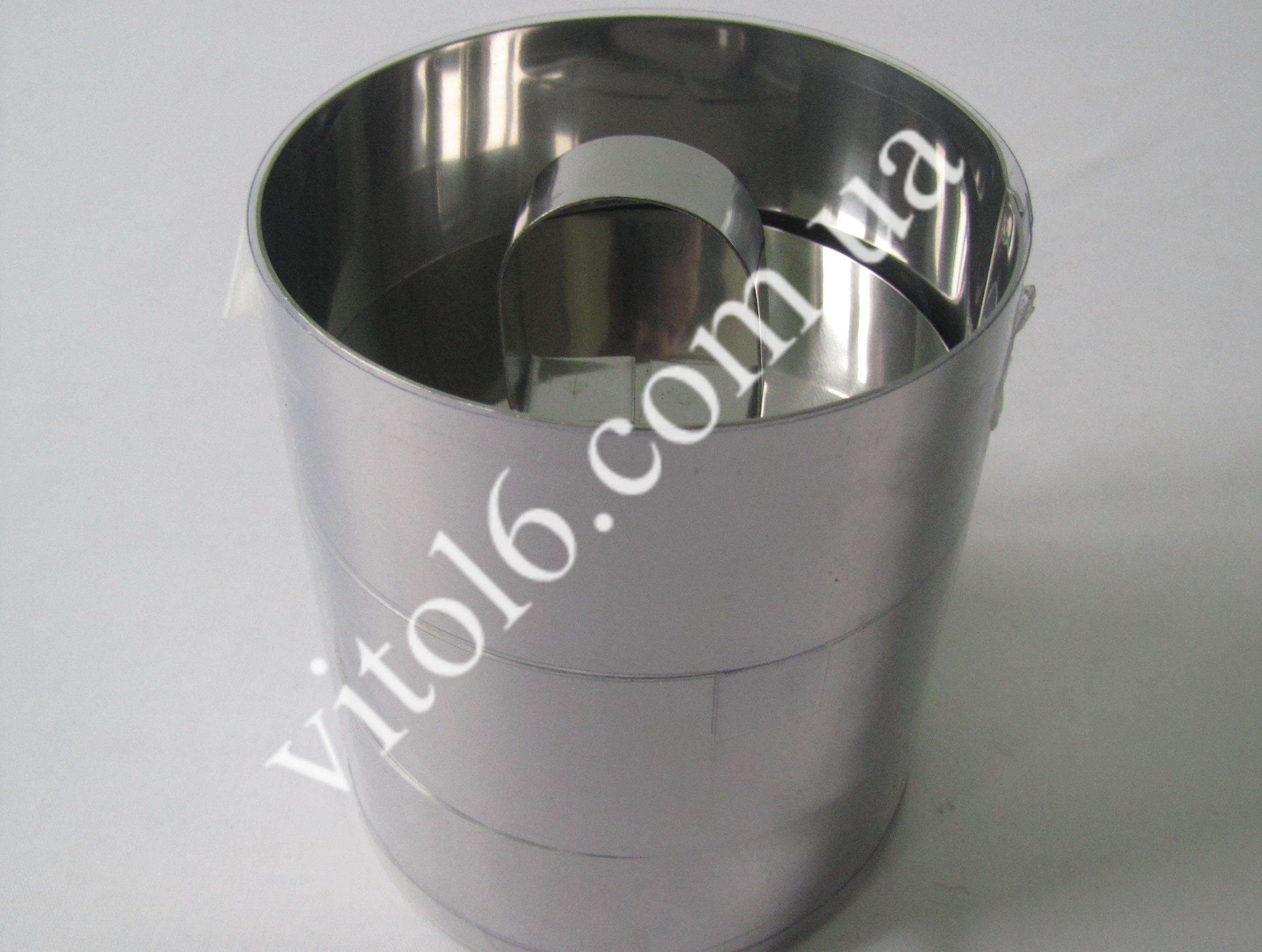 Набір кілець метал для гарніру з 3-х О 10см профессіон.з кришкойVT6-15321 (32шт)