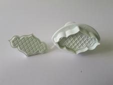 Плунжер для мастики из 2-х  Ажурный VT6-15782(200)
