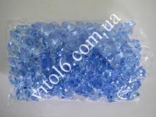 Кристалл пластм голубой  HZ27 VT6-16077(50уп)