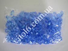 Кристалл пластм голубой  HZ27 VT6-16078(50уп)