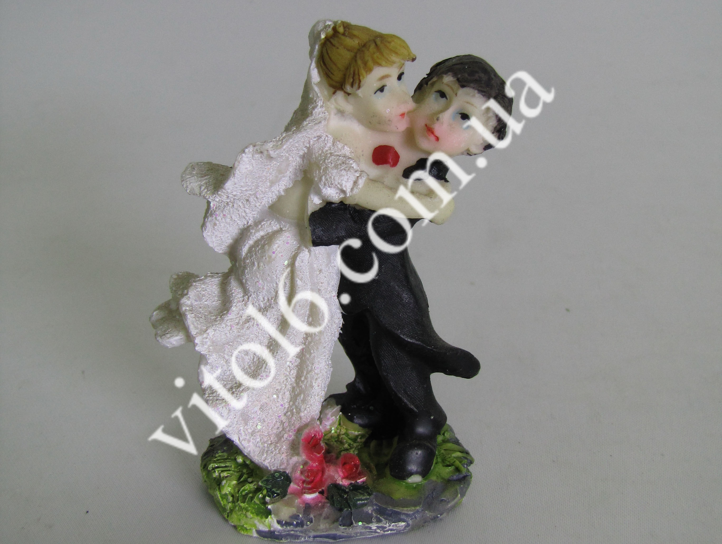 Статуэтка керам.свадебная(1вид)7смVT6-16102(600)