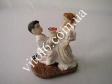 Статуэтка керам.свадебная(1вид)7,5смVT6-16103(480)