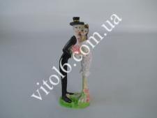 Статуэтка керам.свадебная(1вид)17смVT6-16104(144)