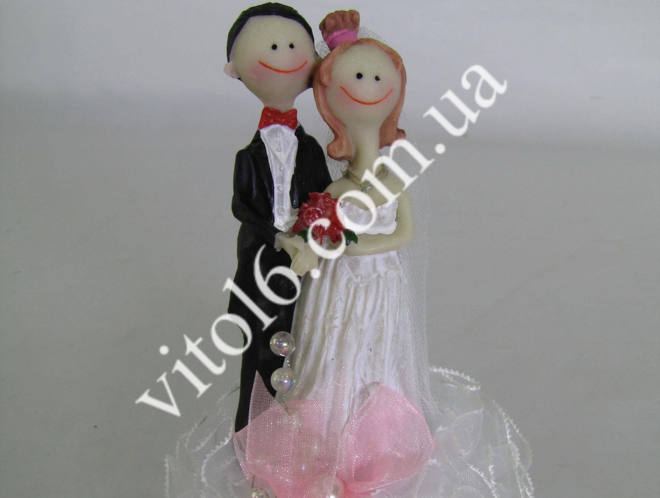 Статуэтка свадебная №14 (3вида) VT6-16127(120шт)
