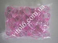Кристалл пластм розовый (103шт/уп)  VT6-16156(50уп