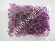 Кристалл пластм 3191бабочка розов(187/уп)VT6-16166