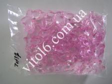 Кристалл пластм 3993 бабочка бол(32/уп)VT6-16168