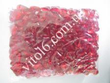 Кристалл пластм 3203 # красный (117/уп)VT6-16172