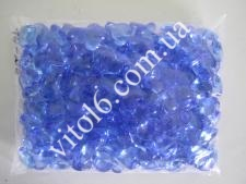 Кристалл пластм 3203 # синий (108/уп)VT6-16174