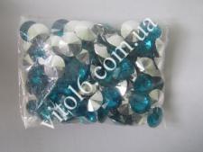 Кристалл пластм 25 №22 бирюза min VT6-16175(30уп)