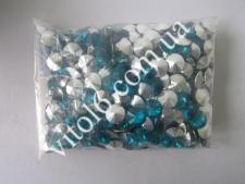 Кристалл пластм 25 №14 бирюза min VT6-16176(20уп