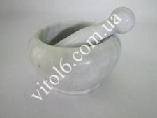 Ступка каменная  Белый лебедь 18*6VT6-16347(4)