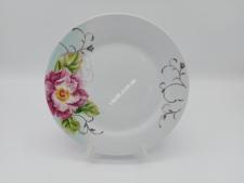 Тарілка кругла  Троянда чайна для 2-го №9 (72 шт)