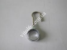 Крючок с кольцом для 25 трубы TL-0404(400шт)
