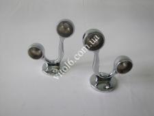 Крепеж двойной для трубы О25 торцевой TL-0207(100)