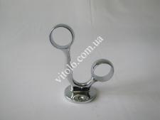 Крепеж двойной для трубы О25 проходной TL-0207(50)