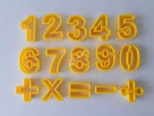 Набір кондитерський пластм.  Цифри VT6-16548(72)
