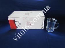 Стакан для чая турецкий с ручкой  145мл х6шт 55411 (4шт)