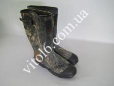 Сапоги резиновые комуфляжные р43   №10   VT6-16755(6шт)
