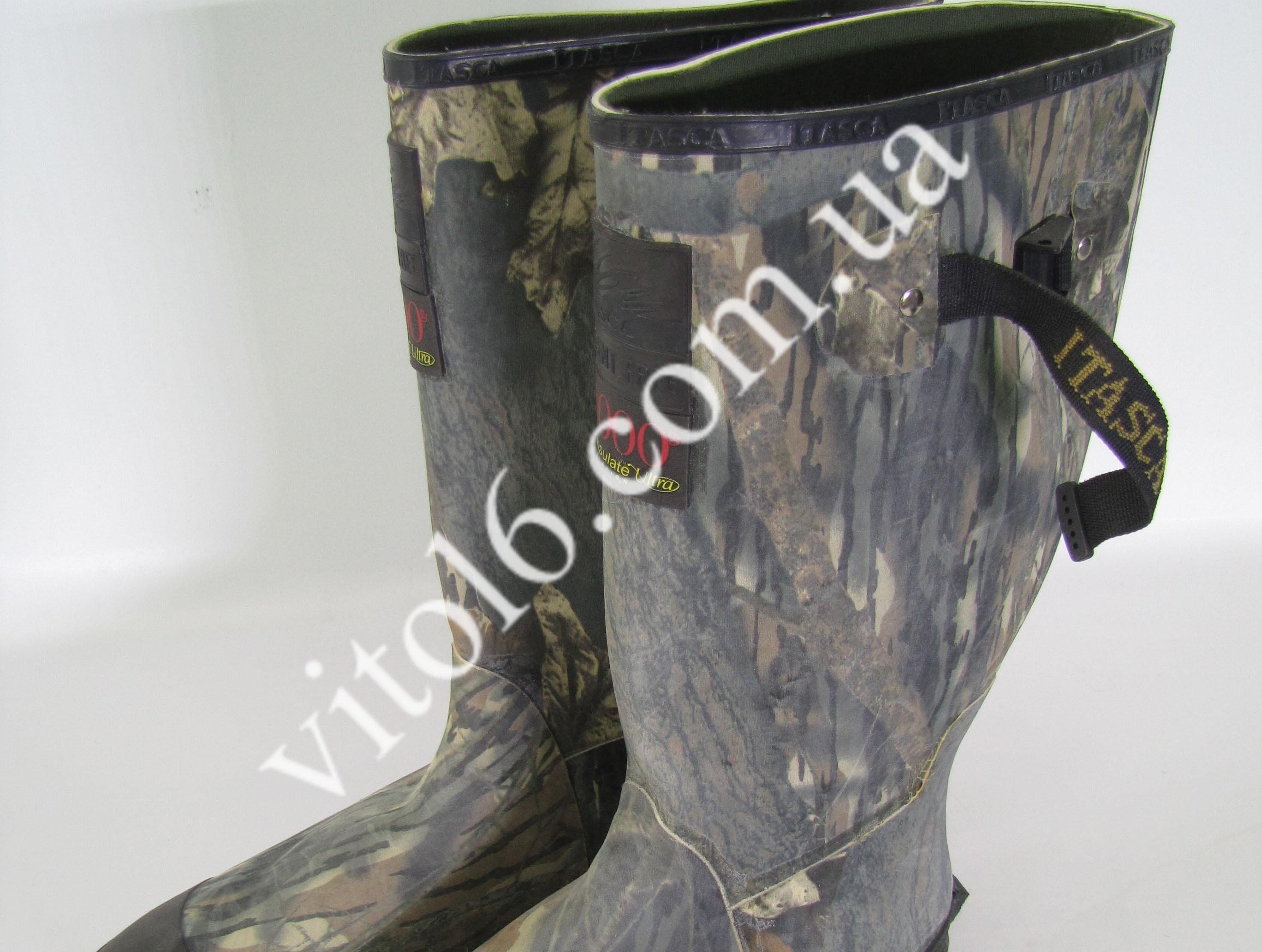 Сапоги резиновые комуфляжные р44   №11  VT6-16756(6шт)