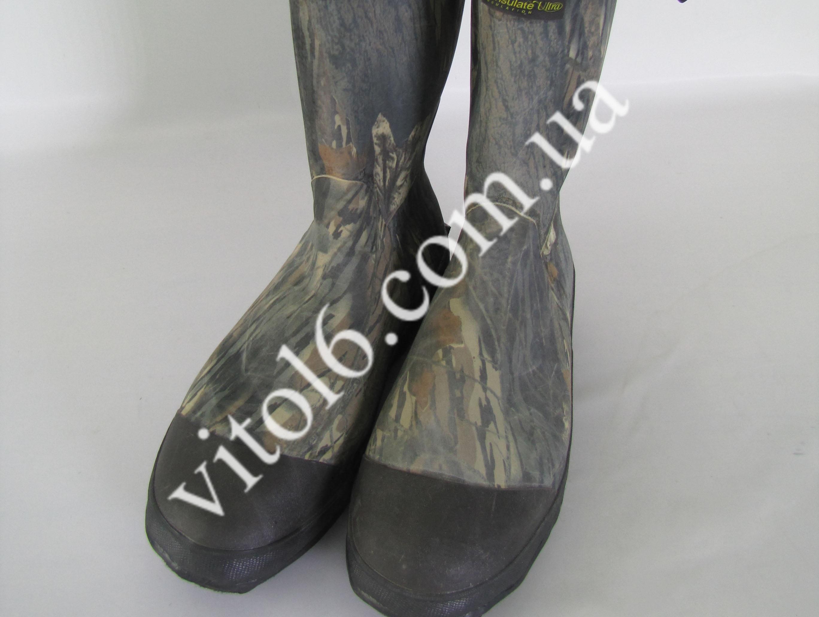 Сапоги резиновые комуфляжные р45   №12  VT6-16757(6шт)