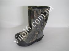 Сапоги резиновые комуфляжные р46   №13 VT6-16758(6шт)