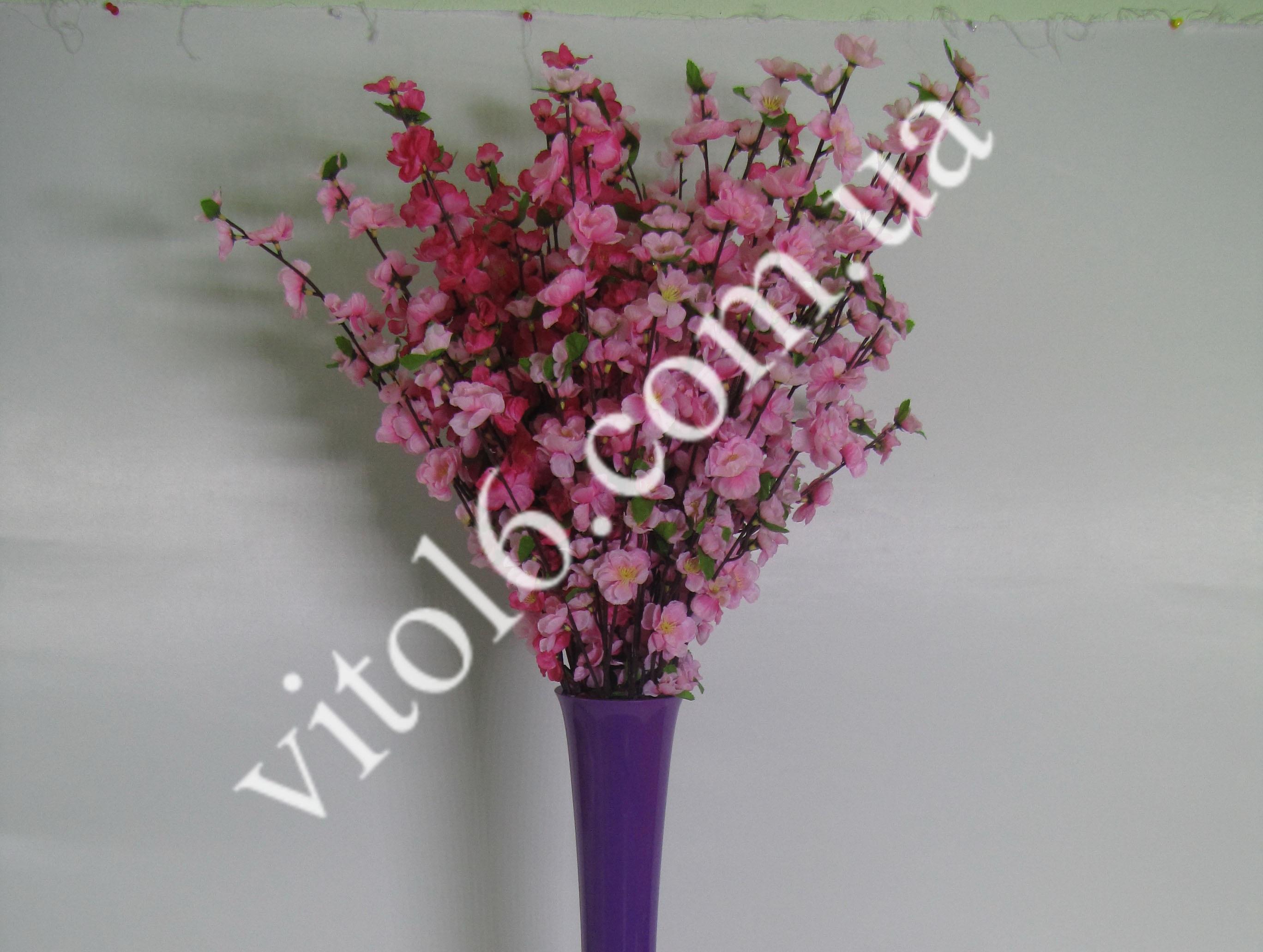 Ветка майской Розы (2цв) VT6-103(600шт)