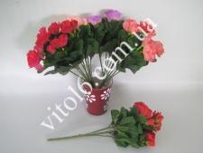Азалия в букете (4цвета)VTD-105(1200шт)