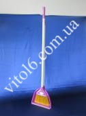 Совок з мітлою  Zambak  №128 (12шт)