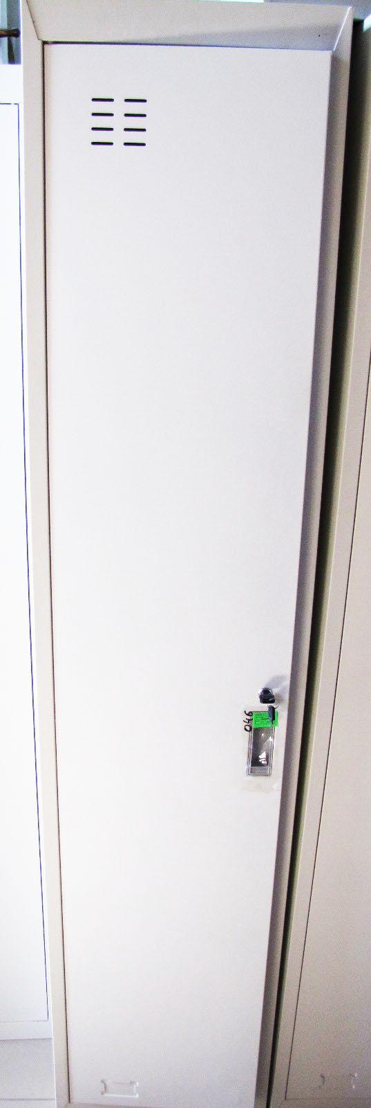 Шкаф метал.одинарный белый  т=0,8мм 046(2шт)