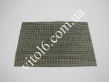 Салфетка под тарелку серебро+черн 30*45  VT6-16543 (12)(300шт)