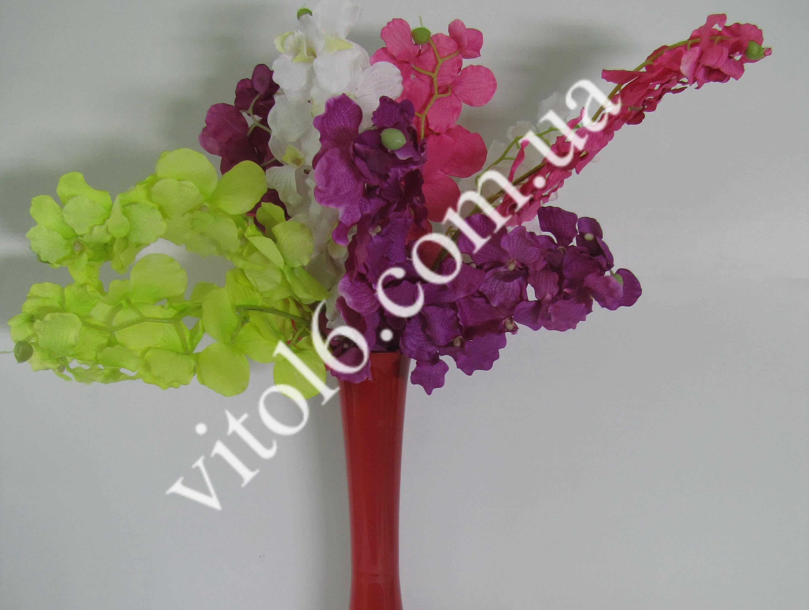 Ветка орхидеи искусств (4цв) VT6-16698(360шт)