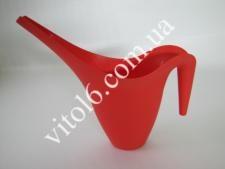 Поливалка пластм. червона WF001-SR(96шт)