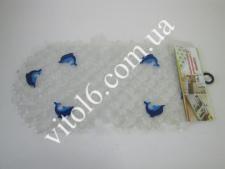 Коврик силиконовый овал прозрачн.BM6834-01P-TL(50ш