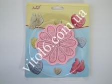 Коврик конд.для айсинга 13см Цветок  VT6-16819