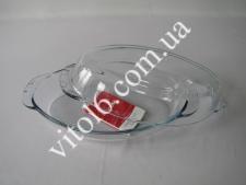 СВЧ Ёмкость с крышкой овал 1,7л Боркам 59032 (4шт)