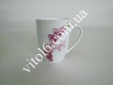 Чашка керам. 330мл  Орхидея  7976  (6 шт) (48шт)