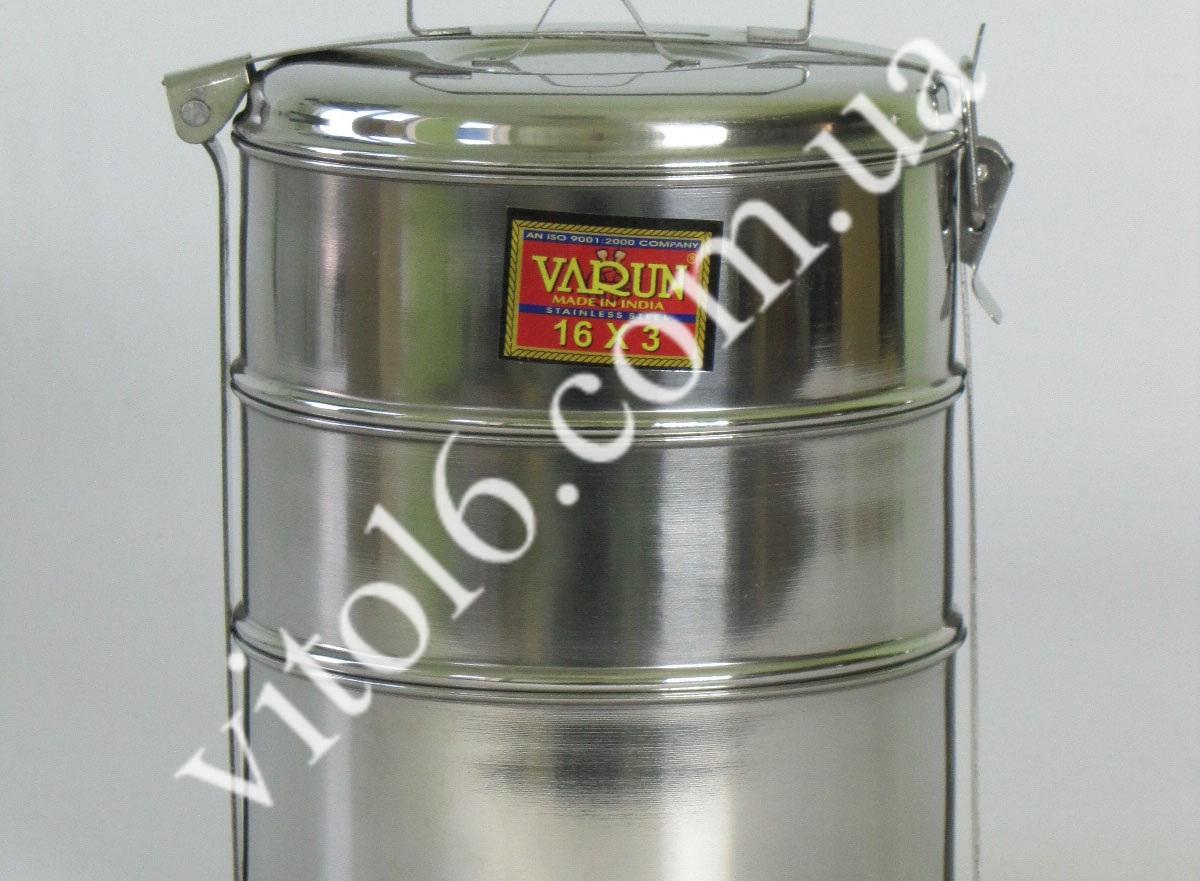 Судок-контейнер из 3-х 16*3 VURUN  (24шт)