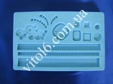 Молд конд.силиконовый Оборка 13*20VT6-16851(100)