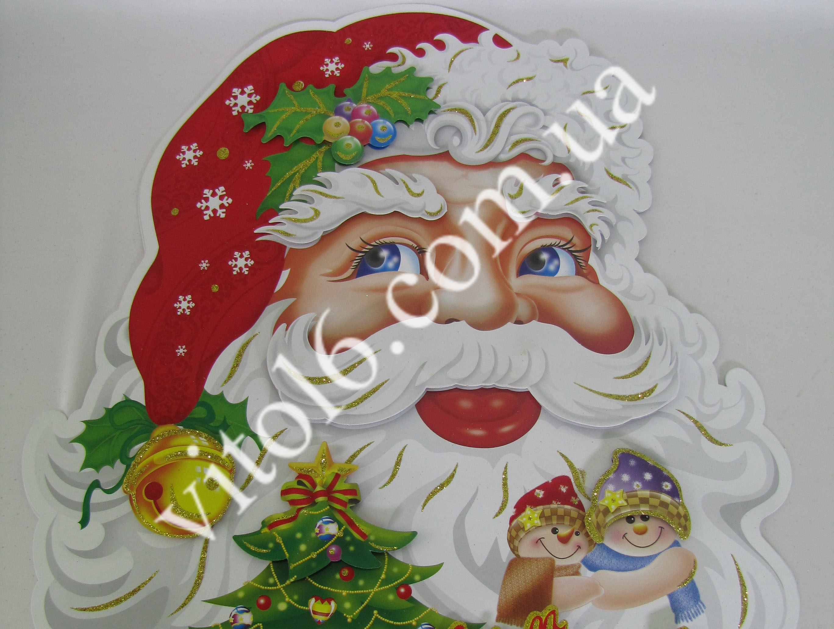 Композиция картонная Дед Мороз 74смVT6-14429(100)