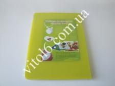 Доска пластм.цветная 30*40*2  VT6-15316-1 син,красн,желт (8шт)