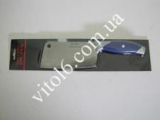 Нож секач с синей ручкойVT6-16911(144)